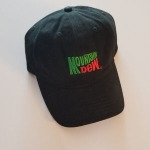 black Mountain Dew baseball Hat